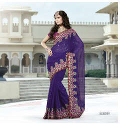 Designer Bollywood Fancy Indian Wedding Sarees
