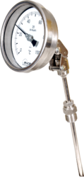 Bimetallic Temperature Gauge