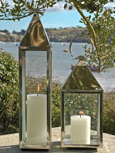 Metal Lanterns Stainless Steel Outdoor Lanterns