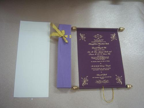 Invitations for Bar / Bat Mitzvah with Custom Printing