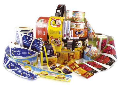Flexo Labels in Roll form