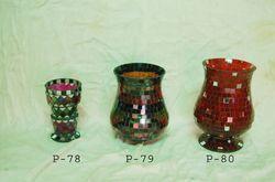 Mosaic Glass Candle Burners