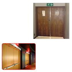 Fire Rated Wooden Door for Hotel - Manufacturer from Ghaziabad