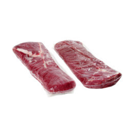 Vacuum Packed Striploin Buffalo Meat