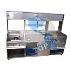 Stainles Steel Food Counter for Hotels