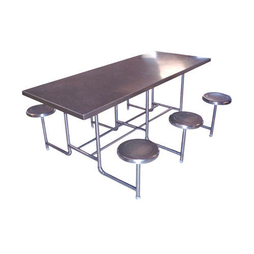 Dining Table - Stainless Steel 6 Seater Dining Table Manufacturer ...
