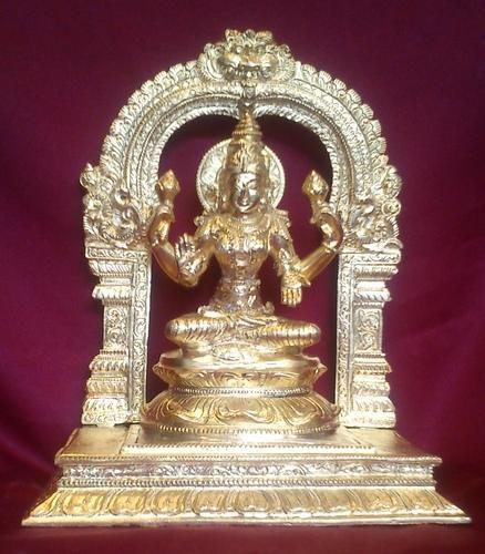 Panchaloha Lakshmi Statue
