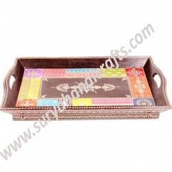 Tray With Stand