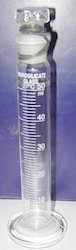 Glass Measuring Cylinder with Stopper