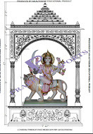 Cad Design of Marble Temple