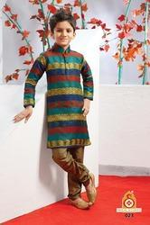 Designer Multicolour Kurta Churidar
