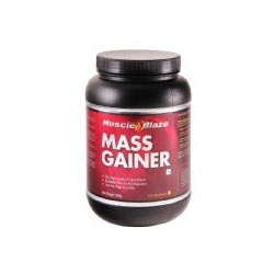MuscleBlaze Mass Gainer, Chocolate 1.1 lb
