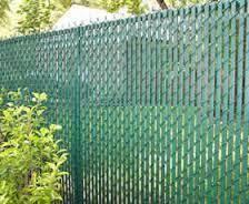 garden chain link fencing