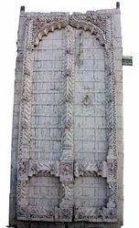 Vintage Front Carved Door