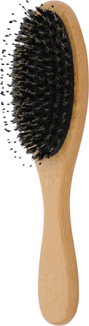 boar wooden paddle hair brush