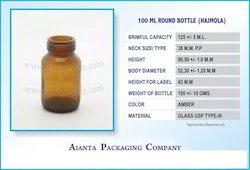 100 Ml Round Bottle (Hajmola)