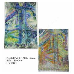 Digital Print Summer Shawls