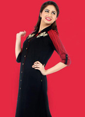 Cool Georgette Kurtis With Legging