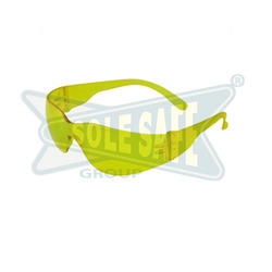 Clear Karam Construction Safety Goggles