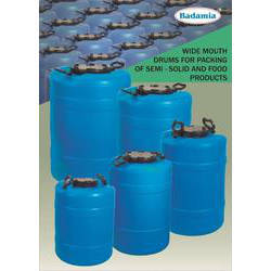 Wide Mouth Drums 40 litres