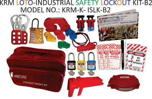 Lockout Tagout Kit Industrial Safety Lockout Tagout Kit
