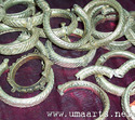 Assorted Metallic Tribal Bangles (banjara Bangles)
