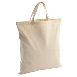 Cotton Bag with Short Handle