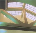 Translucent Fiberglass Skylight