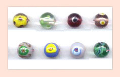 Designer Lamp Work Glass Beads  FLWB-05