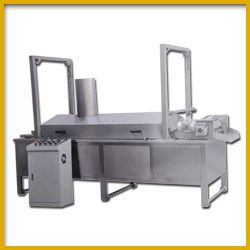 Continuous Frying Machine for Beans & Pulses Manufacturing