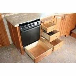 Modular kitchen drawer in bengaluru karnataka india for Prefab cabinets near me