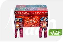 Vaah Wooden Elephant Box