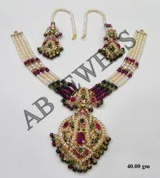 Jadau Gold Necklace