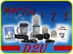 Merlin 123 Juicer Grinder Mixer Multi Blender