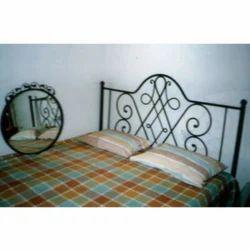 Steel Designer Bed