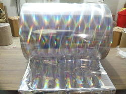 Rainbow Pillar Holographic Polyester Film