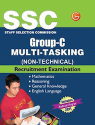 SSC Staff Selection Commission Group-C Multi-Tasking