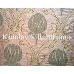 Designer Embroidery Silk Fabric