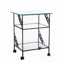 Wrought Iron TV Trolley