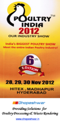 Poultry India , PI-2012, HITEX, Hyderabad