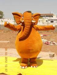 Elephant Fur Costume