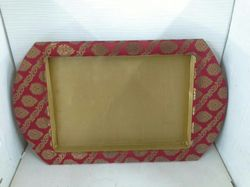 Decorative Trays for Saree Packaging