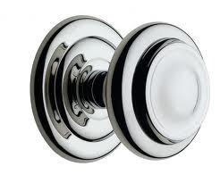 Iron Center Knobs for Office Doors