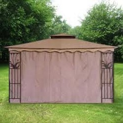 Three Side Covered Gazebo Tent