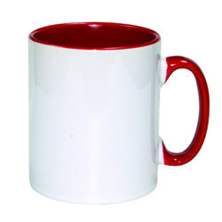 Two Tone Red Mugs