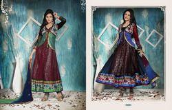 Waist Coat Style Salwar Kameez