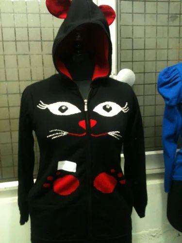 Ladies Hooded Sweater