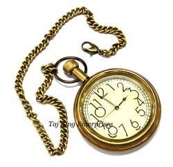 Brass Pocket Watch