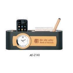 clock cum holder