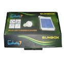 Solar Light Cum Mobile Charger